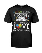 Autism Mom Shirt Autism Mom A Journey Of Love Classic T-Shirt front
