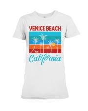 VENICE BEACH CALIFORNIA Premium Fit Ladies Tee thumbnail