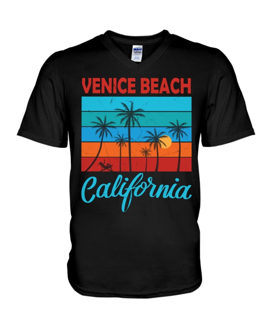 VENICE BEACH CALIFORNIA V-Neck T-Shirt