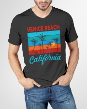 VENICE BEACH CALIFORNIA V-Neck T-Shirt garment-vneck-tshirt-front-lifestyle-01