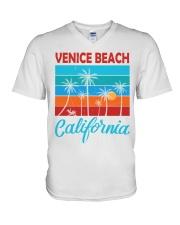 VENICE BEACH CALIFORNIA V-Neck T-Shirt thumbnail