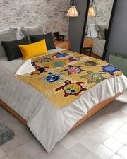 """Turtle  Sherpa Fleece Blanket - 50"""" x 60"""" aos-sherpa-fleece-blanket-lifestyle-front-02"""