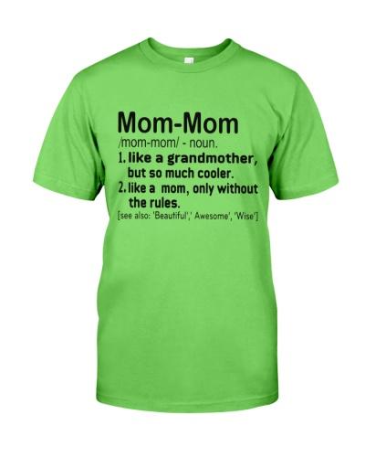 Define - Mommom
