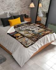 """Book Sherpa Fleece Blanket - 50"""" x 60"""" aos-sherpa-fleece-blanket-lifestyle-front-02"""