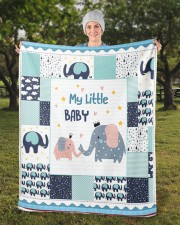 "Elephant  Sherpa Fleece Blanket - 50"" x 60"" aos-sherpa-fleece-blanket-50x60-lifestyle-front-13b"