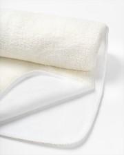 "Busy Bees Sherpa Fleece Blanket - 50"" x 60"" aos-sherpa-fleece-blanket-close-up-04"