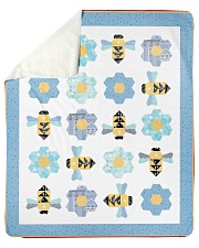 "Busy Bees Sherpa Fleece Blanket - 50"" x 60"" front"