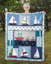 "Sailt  Sherpa Fleece Blanket - 50"" x 60"" aos-sherpa-fleece-blanket-50x60-lifestyle-front-13b"