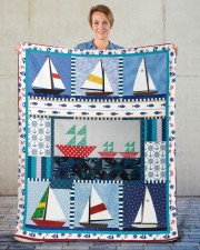 "Sailt  Sherpa Fleece Blanket - 50"" x 60"" aos-sherpa-fleece-blanket-50x60-lifestyle-front-16"
