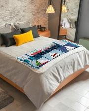 "Sailt  Sherpa Fleece Blanket - 50"" x 60"" aos-sherpa-fleece-blanket-lifestyle-front-01"