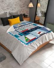 "Sailt  Sherpa Fleece Blanket - 50"" x 60"" aos-sherpa-fleece-blanket-lifestyle-front-02"
