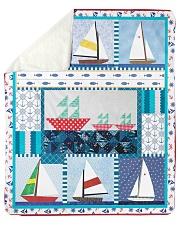"Sailt  Sherpa Fleece Blanket - 50"" x 60"" front"