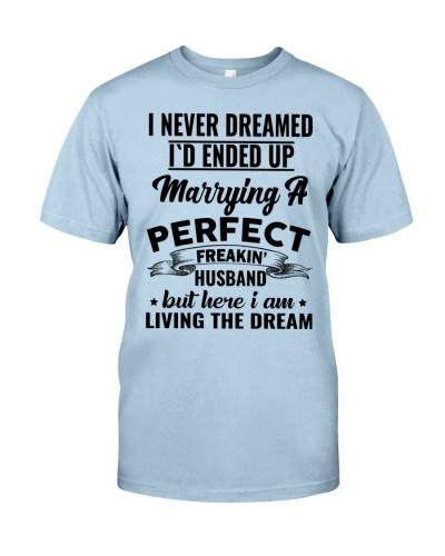 I never dreamed
