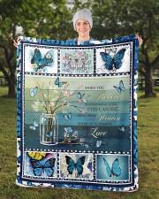 """Butterfly Sherpa Fleece Blanket - 50"""" x 60"""" aos-sherpa-fleece-blanket-50x60-lifestyle-front-13b"""
