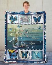 """Butterfly Sherpa Fleece Blanket - 50"""" x 60"""" aos-sherpa-fleece-blanket-50x60-lifestyle-front-16"""