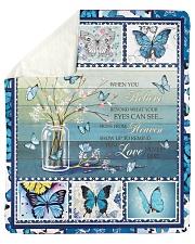 """Butterfly Sherpa Fleece Blanket - 50"""" x 60"""" front"""