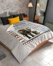 "Elephant  Sherpa Fleece Blanket - 50"" x 60"" aos-sherpa-fleece-blanket-lifestyle-front-02"