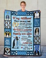 """Penguin  Sherpa Fleece Blanket - 50"""" x 60"""" aos-sherpa-fleece-blanket-50x60-lifestyle-front-16"""