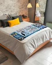 """Penguin  Sherpa Fleece Blanket - 50"""" x 60"""" aos-sherpa-fleece-blanket-lifestyle-front-01"""