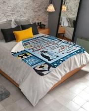 """Penguin  Sherpa Fleece Blanket - 50"""" x 60"""" aos-sherpa-fleece-blanket-lifestyle-front-02"""
