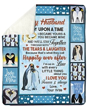 "Penguin  Sherpa Fleece Blanket - 50"" x 60"" front"