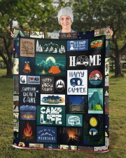"Camp Life Sherpa Fleece Blanket - 50"" x 60"" aos-sherpa-fleece-blanket-50x60-lifestyle-front-13b"