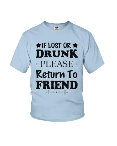 if lost Retur n to friend