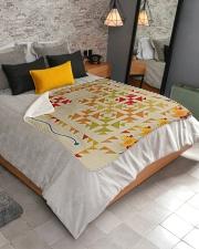 """Duck  Sherpa Fleece Blanket - 50"""" x 60"""" aos-sherpa-fleece-blanket-lifestyle-front-02"""