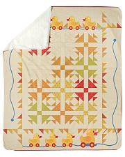 "Duck  Sherpa Fleece Blanket - 50"" x 60"" front"