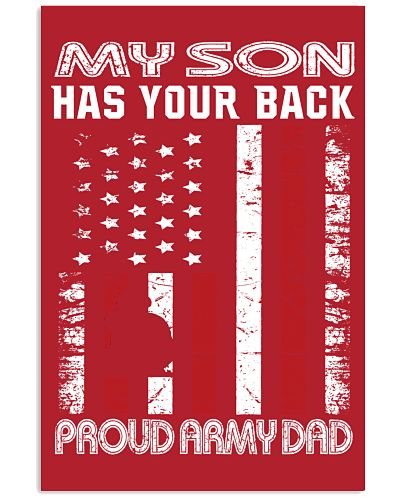 Army Dad - My Son has your back
