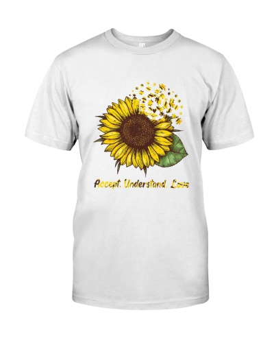Autism Awareness Sunflower T-Shirt