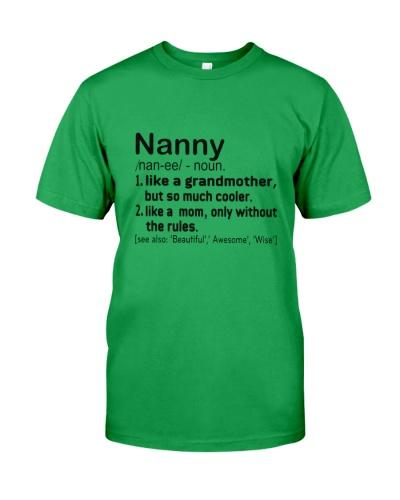 Define - Nanny