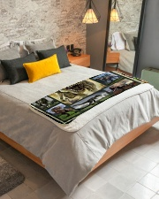 """Trex  Sherpa Fleece Blanket - 50"""" x 60"""" aos-sherpa-fleece-blanket-lifestyle-front-01"""