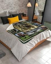 """Trex  Sherpa Fleece Blanket - 50"""" x 60"""" aos-sherpa-fleece-blanket-lifestyle-front-02"""