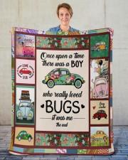 """Bugs Car  Sherpa Fleece Blanket - 50"""" x 60"""" aos-sherpa-fleece-blanket-50x60-lifestyle-front-16"""