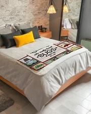"""Bugs Car  Sherpa Fleece Blanket - 50"""" x 60"""" aos-sherpa-fleece-blanket-lifestyle-front-01"""