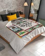 """Bugs Car  Sherpa Fleece Blanket - 50"""" x 60"""" aos-sherpa-fleece-blanket-lifestyle-front-02"""