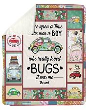 """Bugs Car  Sherpa Fleece Blanket - 50"""" x 60"""" front"""