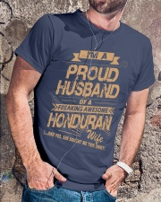 HONDURAN AWESOME WIFE Premium Fit Mens Tee lifestyle-mens-crewneck-front-4