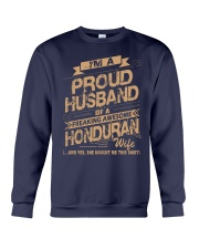 HONDURAN AWESOME WIFE Crewneck Sweatshirt thumbnail