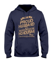 HONDURAN AWESOME WIFE Hooded Sweatshirt thumbnail
