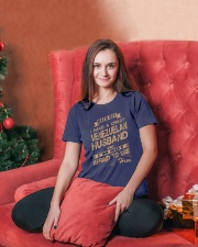 VENEZUELAN HUSBAND Premium Fit Ladies Tee lifestyle-holiday-womenscrewneck-front-2