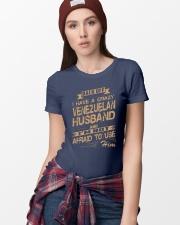 VENEZUELAN HUSBAND Premium Fit Ladies Tee lifestyle-women-crewneck-front-9