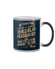 VENEZUELAN HUSBAND Color Changing Mug thumbnail