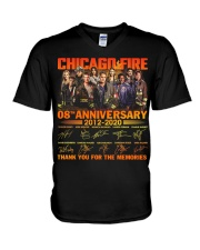 chicago fire 2306 V-Neck T-Shirt thumbnail