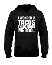 I wonder if TACOS think about me too Hooded Sweatshirt thumbnail
