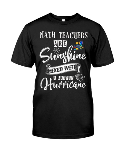 Math Teacher Are Sunshine Mixed With Hurricane