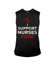 I Support Nurses 2020 Sleeveless Tee thumbnail