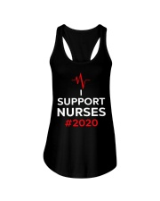 I Support Nurses 2020 Ladies Flowy Tank thumbnail