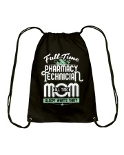 Pharmacy Tech Mom Limited Edition Drawstring Bag thumbnail